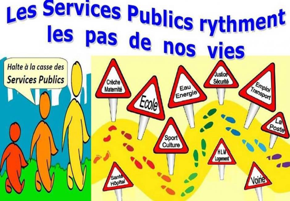 Le 7 mars 2017, journée nationale d'action contre la casse du service public